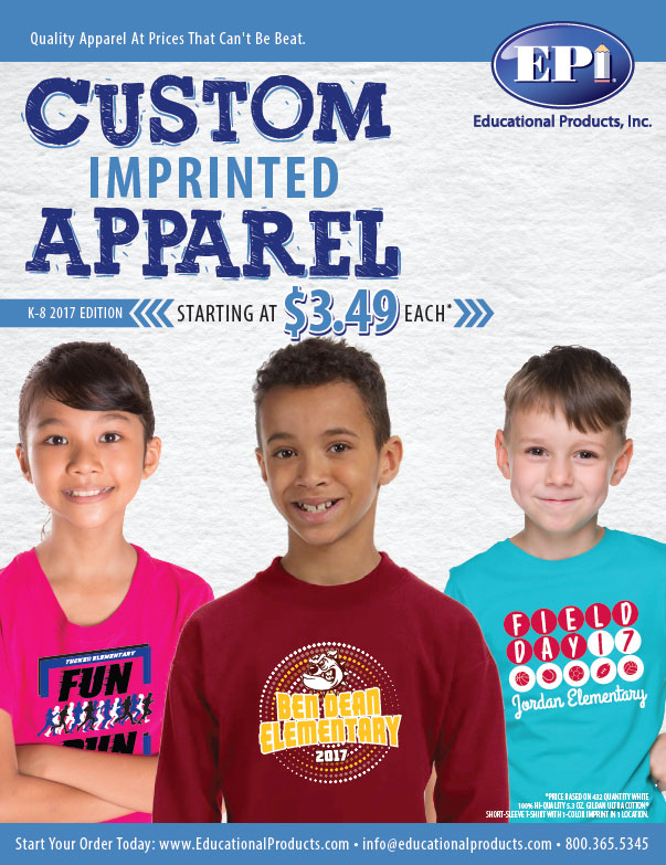 K-8 Apparel Flyer