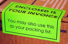 Invoice Label