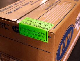 Invoice Label 2